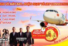Vietjet Air khuyến mãi 2 tuần vé 0 ĐỒNG toàn mạng bay