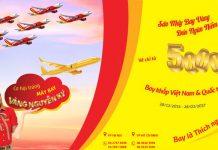 Săn máy bay vàng với vé Vietjet Air chỉ từ 5 000đ TOÀN MẠNG BAY