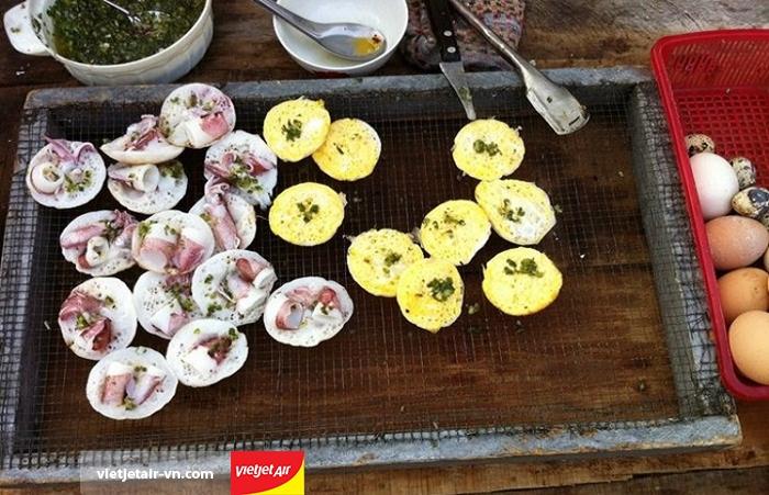 Bánh căn đảo Bình Ba