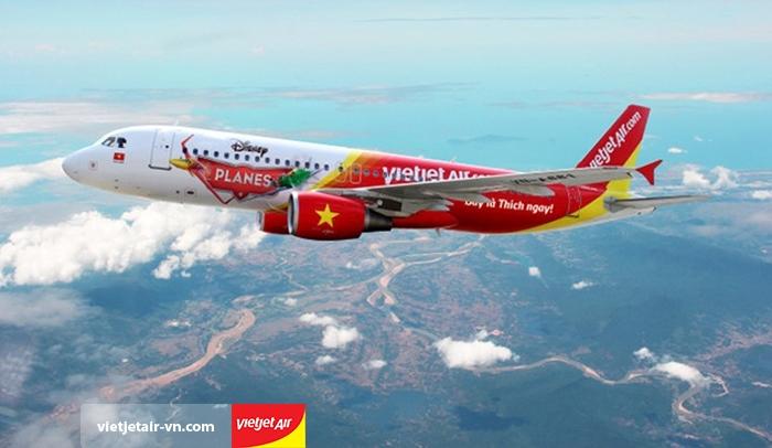 Vietjet Air mở đường bay mới Hà Nội - Đồng hới