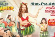 Du lịch thỏa thích khắp Việt Nam với vé Vietjet Air 0 đồng