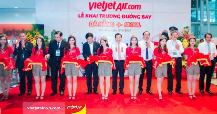 Khai trương đường bay Đà Nẵng - Seoul, Vietjet Air bán vé chỉ từ 630 000đ