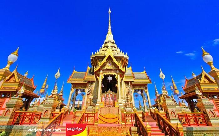 Du lịch Bangkok cùng Vietjet Air