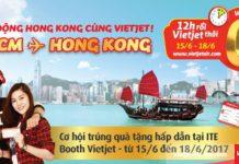 Khuấy động HongKong cùng 5000 vé Vietjet Air chỉ từ 0 đồng