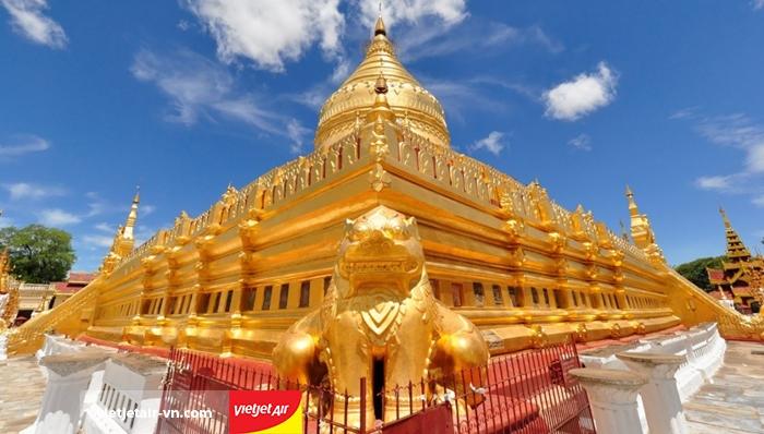 Chùa vàng Shwezigon Bagan