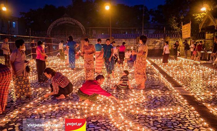 lễ hội ánh sáng Thadingyut