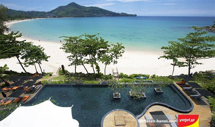 Bãi biển Kamala thích hợp cho tuần trăng mật