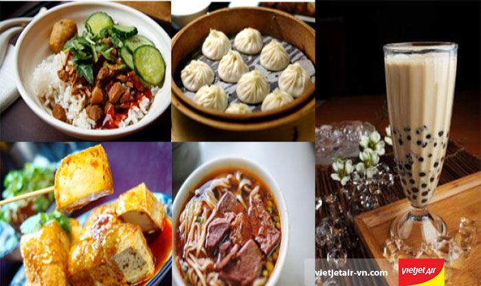 Ẩm thực Đài Loan rất đa dạng