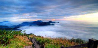 Ngắm núi A Lý Sơn đẹp như chốn bồng lai tiên cảnh tại Đài Loan
