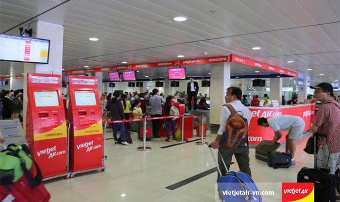 Lệ phí đổi vé máy bay Vietjet air