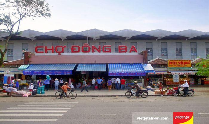 Chợ Đông Ba và những đặc sản tại Huế