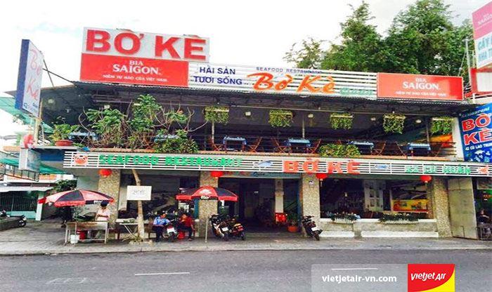 Nhà hàng hải sản Nha Trang Bờ kè quán giản dị