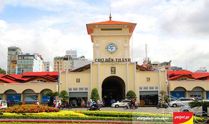 Chợ Bến Thành biểu tượng văn hóa của Sài Gòn