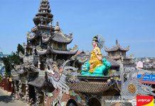 Chùa Linh Phước điểm đến miễn phí tại Đà Lạt