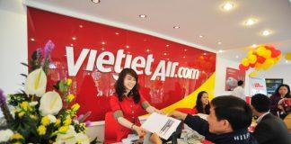 Phí đổi ngày bay Vietjet Air