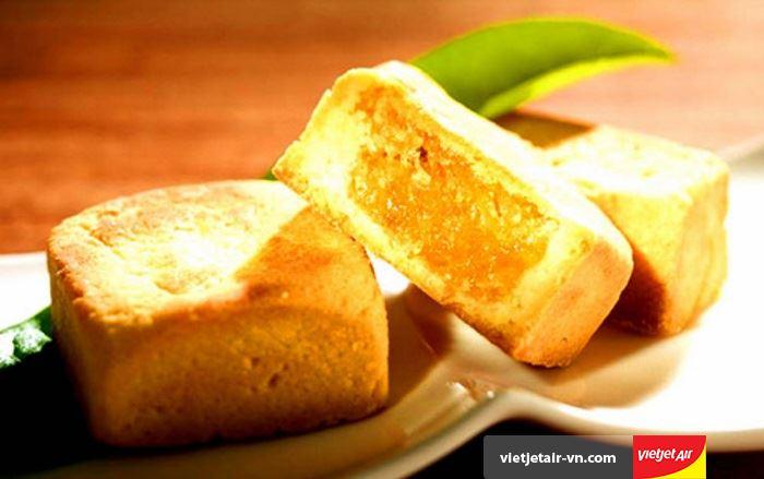 Bánh dứa lòng đỏ - Món ngon không thể bỏ qua tại Đài Loan
