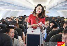 Tiêu chuẩn hành lý xách tay hãng hàng không Vietjet Air