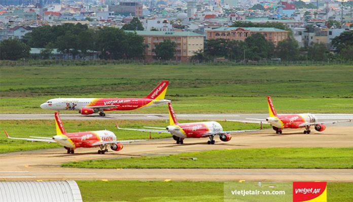 Sân bay quốc tế Tân Sơn Nhất Vietjet Air
