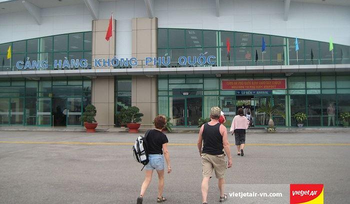 Cảng hàng không Phú Quốc có diện tích là 904.55 ha