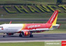 Vietjet Air khai thác các chuyến bay quốc tế tại nhà ga Terminal 4, sân bay quốc tế Changi