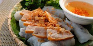 Bánh cuốn ngon tại Hà Nội
