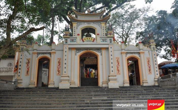 Đền Bắc Lệ thuộc xã Tân Thành, huyện Hữu Lũng, tỉnh Lạng Sơn