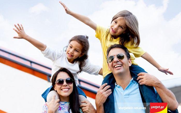 Vé máy bay trẻ em hãng hàng không Vietjet Air vẫn được giữ nguyên
