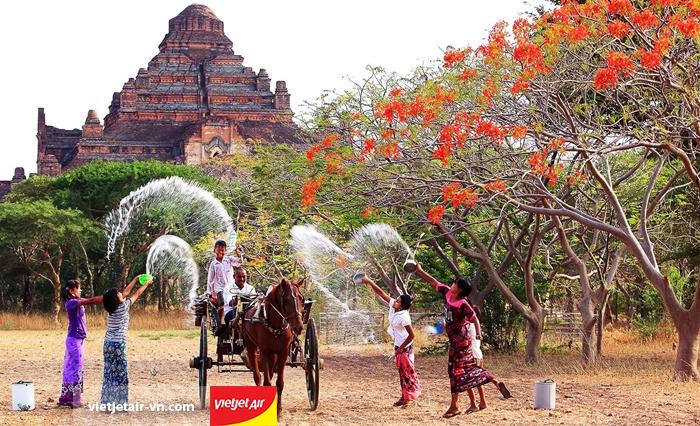 Lễ hội Thingyan Myanmar