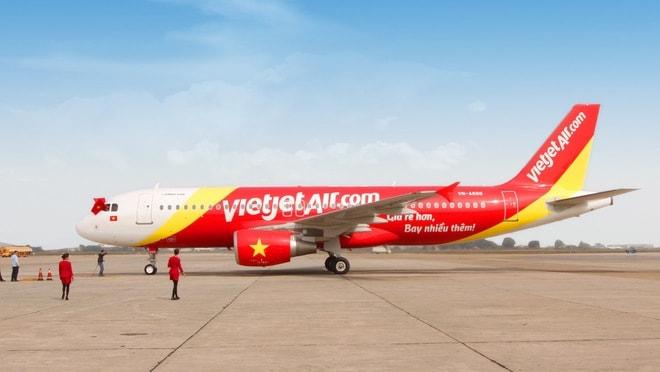 Mức phí quản trị hệ thống của Vietjet Air từ ngày 01/06