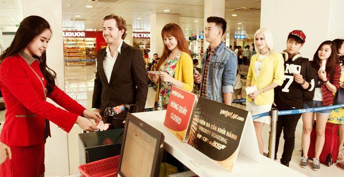 Mức phí hệ thống áp dụng đối với hành trình bay quốc tế - Vietjet Air