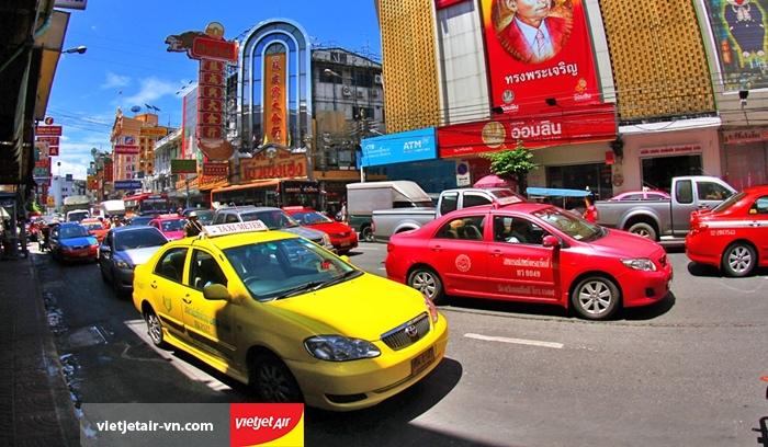 taxi ở Bangkok