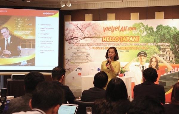 Vietjet Air mở đường bay Hà Nội - Osaka
