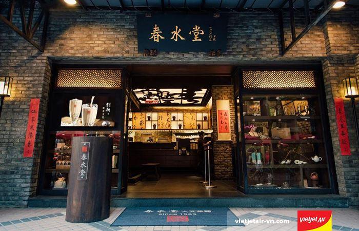 Chun Shui Tang mang nét truyền thống Á Đông