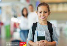 Giấy tờ cần thiết cho trẻ em khi đi máy bay