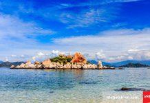 Đảo Bình Ba còn được gọi là đảo tôm hùm