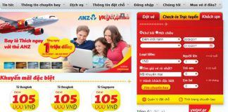 Check – in online của Vietjet Air