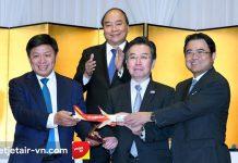 Khai chương 3 đường bay kết nối Việt Nam – Nhật Bản