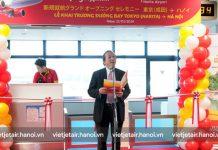 Đường bay thứ 3 đến Nhật Bản kết nối Hà Nội – Tokyo