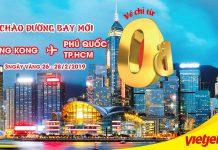 Trải nghiệm Hong Kong với 10.000 vé 0 đồng từ Vietjet Air