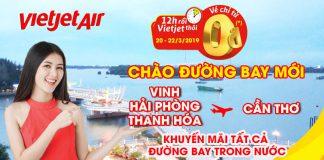 1.400.000 vé máy bay 0 đồng cùng Vietjet Air khám phá Việt Nam
