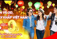 Tận hưởng mùa thu với hành trăm vé khuyến mãi 0 đồng từ Vietjet